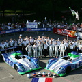 24h of Le Mans, administrative checking, June 14, 2005.