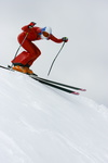 JC  2454 Speed-skiing Kilometre-lance ski-de-vitesse Russian-Team