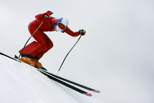 JC  2457 Speed-skiing Kilometre-lance ski-de-vitesse Russian-Team