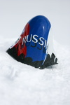 JC  2458 Speed-skiing Kilometre-lance ski-de-vitesse Russian-Team