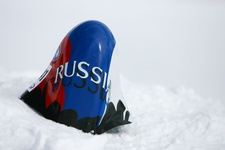 JC  2460 Speed-skiing Kilometre-lance ski-de-vitesse Russian-Team